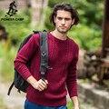 Pioneer camp. envío libre! 2017 la moda de nueva llegada del otoño suéter para hombre casual sudaderas punto pullover fit hombres abrigo de algodón