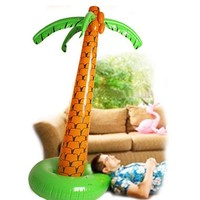 160cm 180cm Giant Inflatable Hawaii Palm Tree Pool Party Accessories Coconut Tree Decorations Props Adult Children Beach Fun Toy