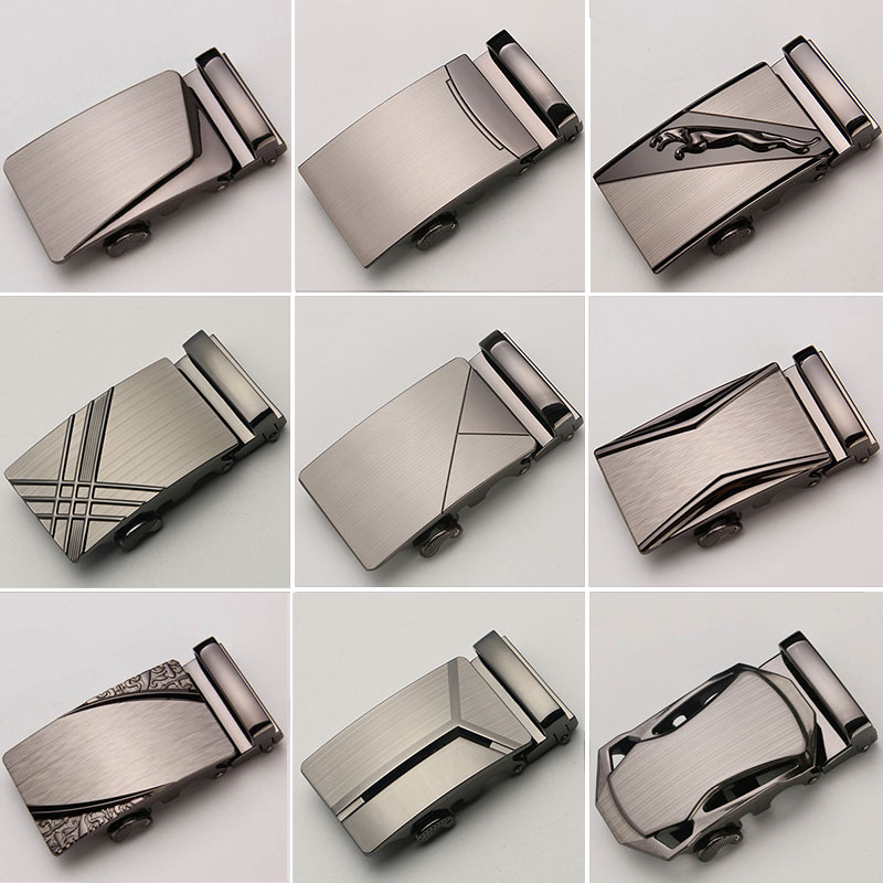30 Stil Automatiska Spännehuvud För Automatiska Bälten Mänskläder Bälten Bälten Män Jeans Bälte Äkta Läder Spänne Cinto
