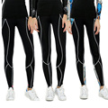 Women Compression  Long Pants  Tight  Trousers Elastic  Exercise Pants Female Workout Bodybuilding Pants