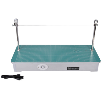 220V/50 Hz Desktop electric cutting machine H803 foam slicer, Cutting thickness 0-23cm, Slice width range 0-70cm Power Tool Sets