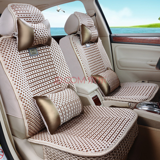 Car Seat Covers Faux Fur Cute Interior Accessories New Plush Pad Ix25 Ix35 RAV4