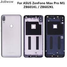 Housing Rear Back Housing For ASUS ZenFone Max Pro M1 ZB601KL ZB602KL Back Cover Battery Door with Adhesive Replacement Parts все цены