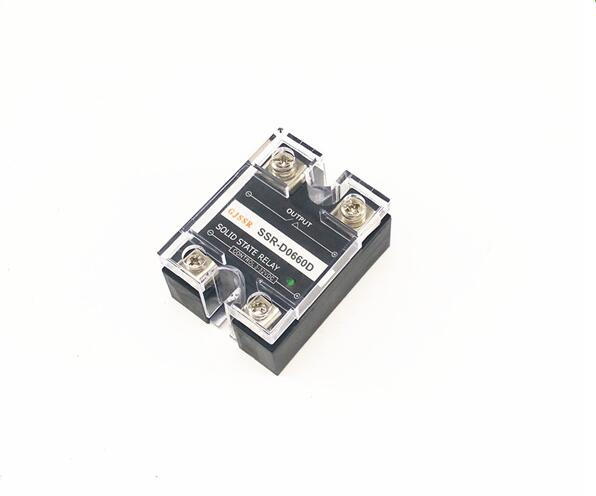 Single-phase DC solid state relay SSR-DD 60A 60VDC/110VDC/220VDC DC-DC normally-open ssr mgr 1 d4860 meike er normally open type single phase solid state relay 60a dc ac