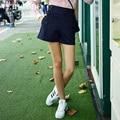Вери güde женщины-line широкий шорты для лето эластичный пояс
