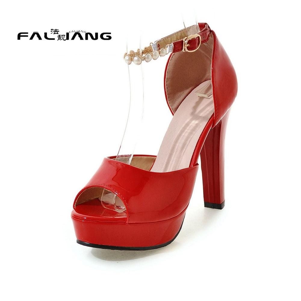 ФОТО Big Size 11 12 Peep Toe Fashion heels women's shoes extreme high heels pumps woman for women