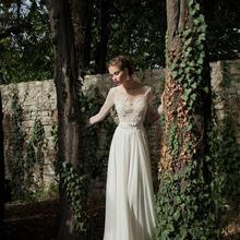 free shipping new fashion vestido de noiva casamento kurtis sexy backles chiffon