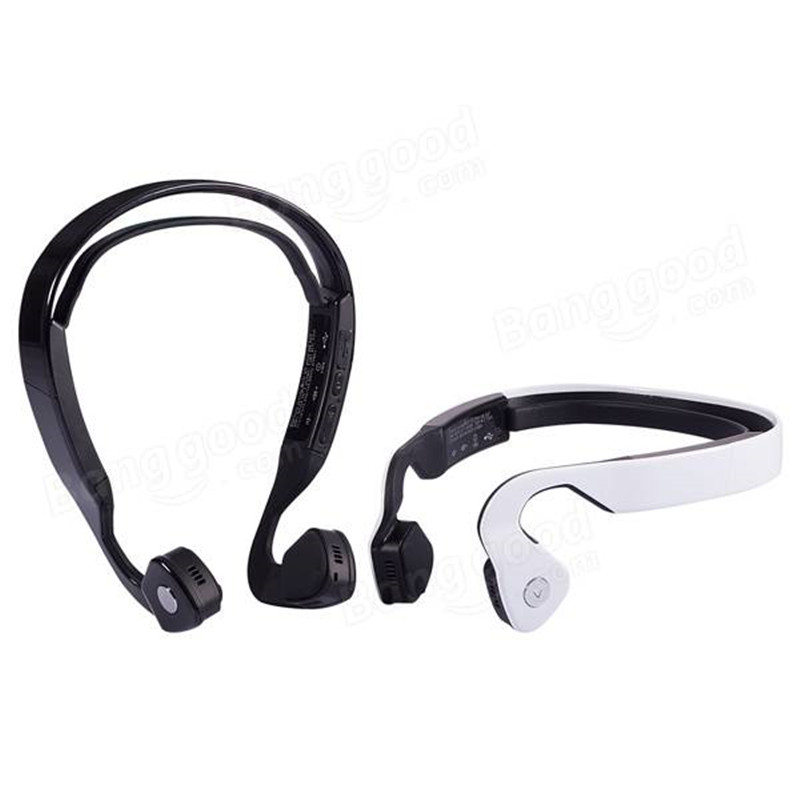 New Smart Bluetooth Wireless Stereo Headset Earphone Sports Running Music Bone Conduction Headphones For Cellphone