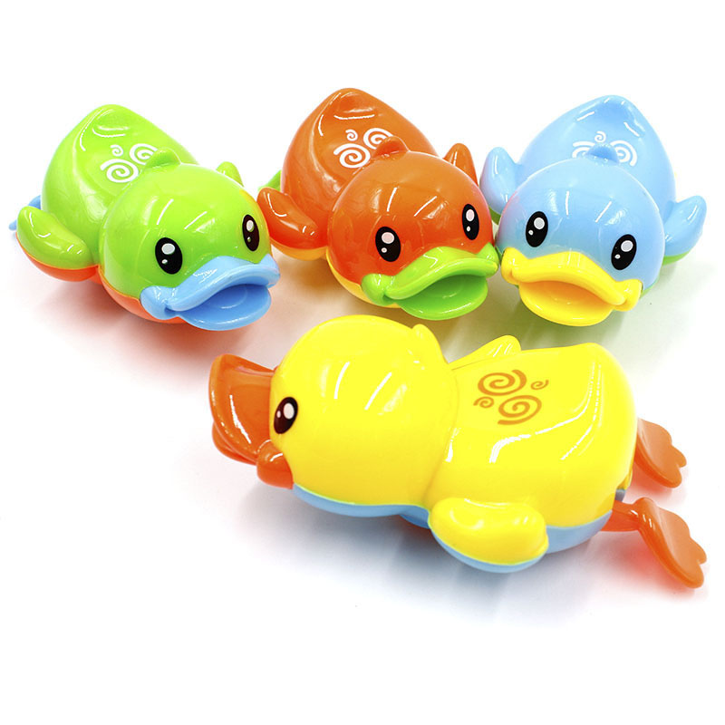 Swimming Bathing Toys Small Elephant Watering Pot Children Kids Baby Showering