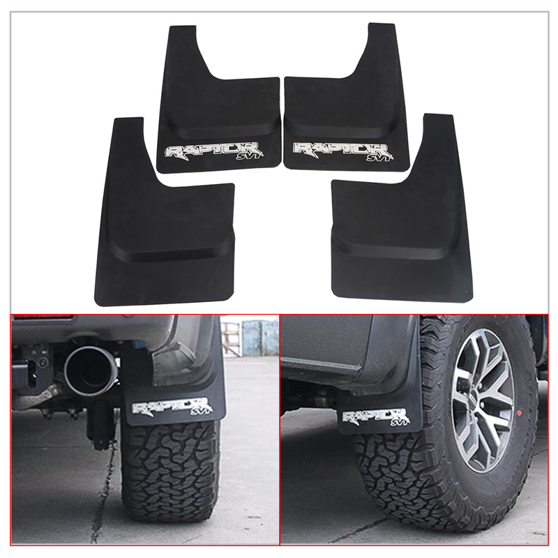 Black Mud Flaps Splash Guards Cover Car Fender Mudguards For Ford F150 2010-2014 Car Styling Accessories // все цены