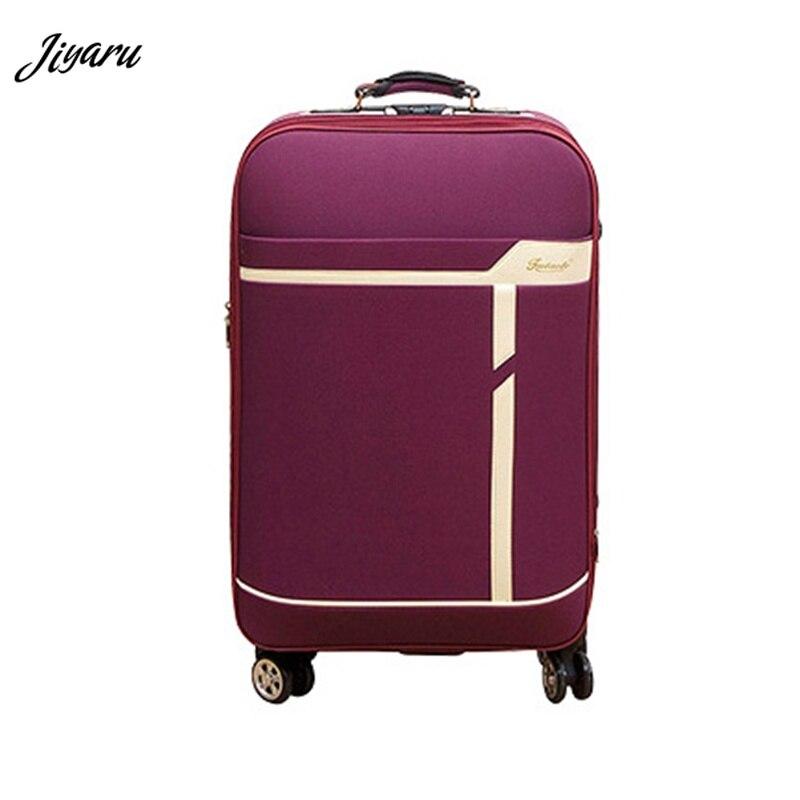 2019 Hohe Qualität Reise Gepäck Oxford Pc Koffer Männer Roll Gepäck Reisetasche Hardside Große Kapazität Trolley Tasche