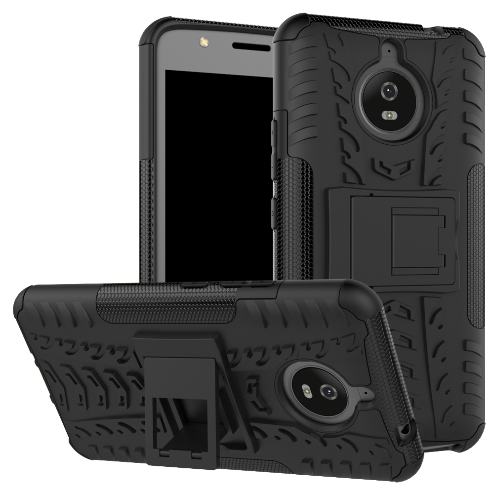 Case For Motorola MOTO E4 E5 Plus Play X4 PC + Silicone Anti Shock Impact Rugged Armor Case For Moto E 4 5 G5 G5S G6 Plus Cover ...