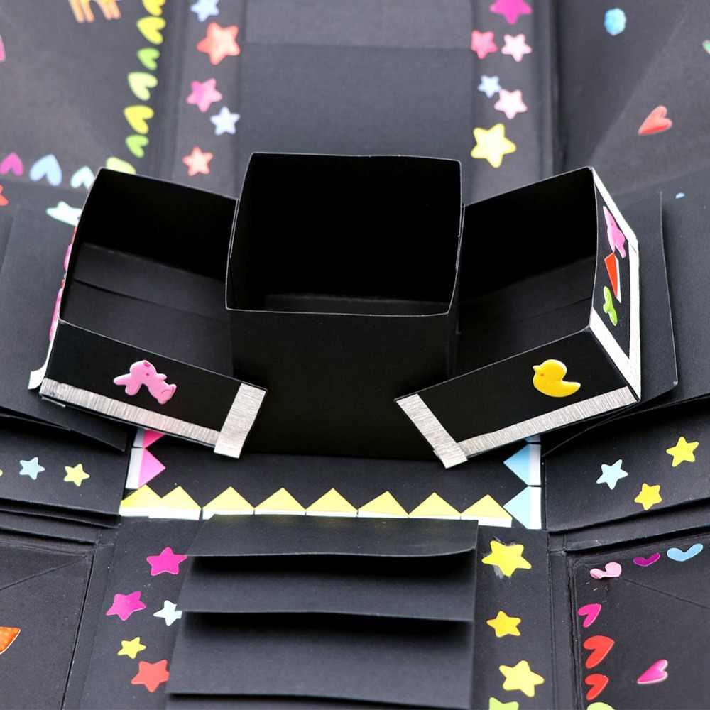 OurWarm DIY Surprise Love Explosion Box Gift For Anniversary Scrapbook Photo Album Birthday