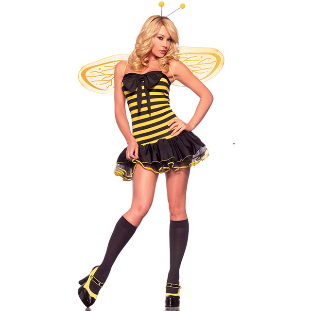 Yellow wings fancy dress