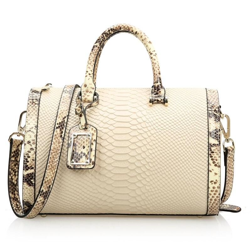 Nesitu Split Leather Red Black White Luxury Handbags Women Bags Designer Messenger Bag Shoulder Bag Office