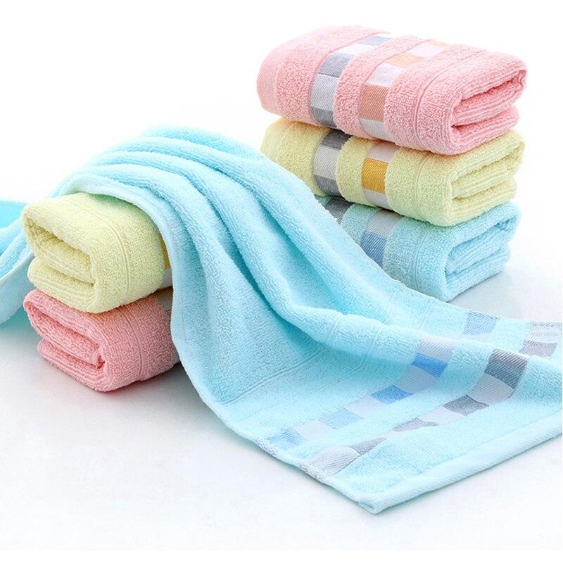 35*73CM Cotton Solid towels Large Bath Sheet Bath Towel Hand Towel Face Home