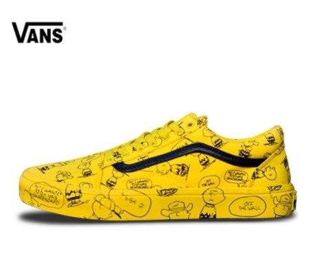 459c565c83d9 New arrival Original VANS men and women classic Old Skool low-top peanuts skate  canvas sneakers VN0A38G1QOG size36-44