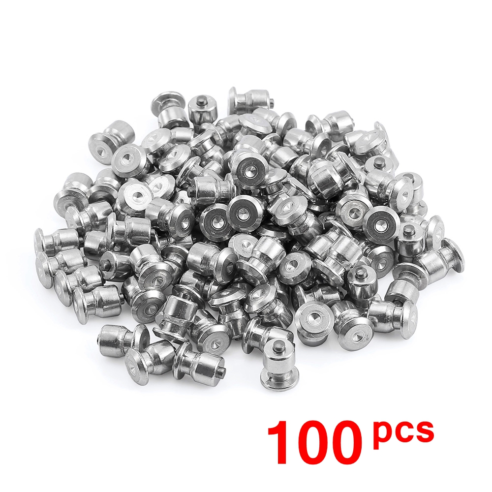 100PCS Winter Tire Spikes Car Tires Studs Screw Snow Spikes Wheel Tyre Snow Chains Studs For Auto Car Motorcycle SUV ATV Truck