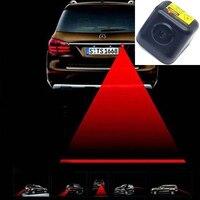 FUGSAME Rear-end Auto Anti-colisão Laser Nevoeiro Anti-fog Estacionamento Parar Brake Aviso Sistema De Segurança para Motor do carro Do Caminhão Trator