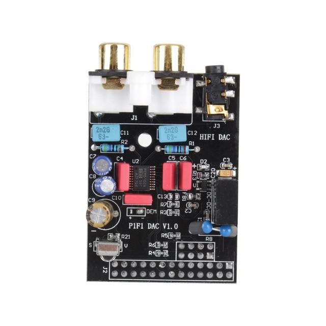 HIFI ЦАП Аудио Звуковая Карта Модуль I2S интерфейс для Raspberry pi B Версия