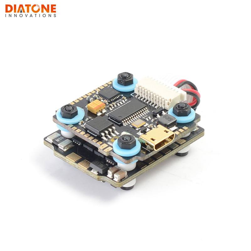 Diatone <font><b>MAMBA</b></font> <font><b>F405</b></font> <font><b>Mini</b></font> Betaflight Flight Controller & F25 25A 2-4S DSHOT600 FPV Racing Brushless ESC For RC models image