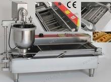 Professional 304 Stainless Steel Auto Electric 110V 220V Donut Doughnut Fryer Machine Maker