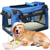 Soothing Happy Cat Premium Soft Sided Cat Carrier Travel Crate Locking Zippers Comfy Plush Nap Pillow