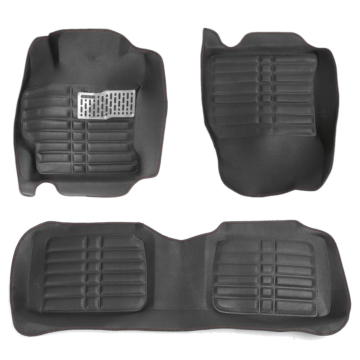 Car Floor Leather Front&Rear Liner Waterproof Mat For Toyota Corolla 2014 2015 2016 universal pu leather car seat covers for toyota corolla camry rav4 auris prius yalis avensis suv auto accessories car sticks