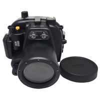 Underwater Waterproof Housing Case For Canon EOS 550D Rebel T2i Can Be Used With 18
