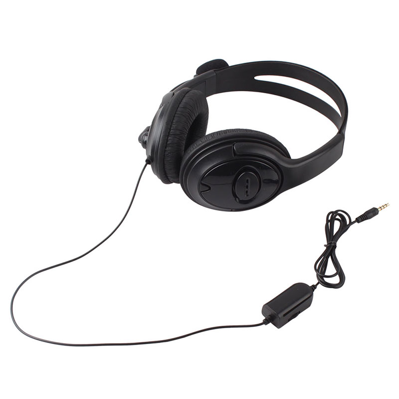 Broadcaster Live Game Gaming Headset Headphone MIC Volume Control for PS4 Black #52671 each g8200 gaming headphone 7 1 surround usb vibration game headset headband earphone with mic led light for fone pc gamer ps4