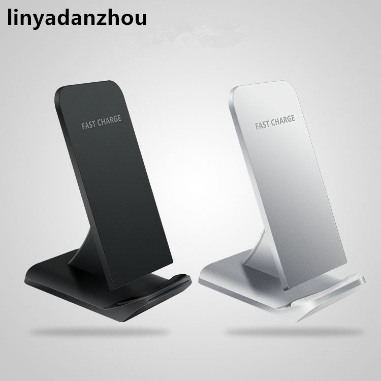 linyadanzhou <font><b>Wireless</b></font> <font><b>Charger</b></font> qi Fast Charging Standard <font><b>Vertical</b></font> Black Sailing Quick Charge For iPhone Samsung s8 s7 s6 edge