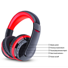 TOPROAD Bluetooth 3D Surround Sound Headphones with Microphone