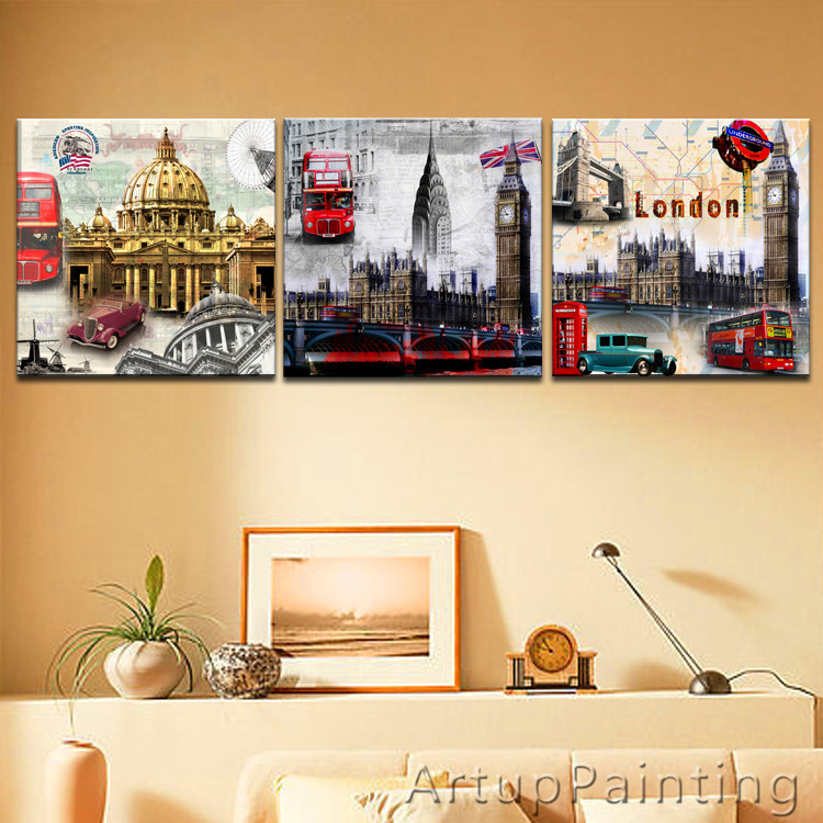 Aliexpress.com : Buy LARGE 3 Panels Art Canvas Print