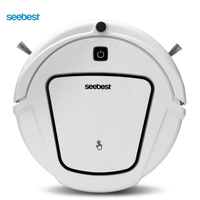 Seebest D720 MOMO 1.0 Dry Mopping Robot Vacuum Cleaner with Big Suction Power, 2 side brush,Time Schedule Clean, 2200mah Li ion