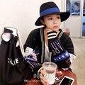 Новый Запад шерсть шляпа М марки Сэр Пн хан издание мода женский шляпа синий завернутый ленты