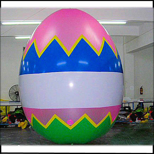 Free shipping height 3m inflatable easter egg/giant easter