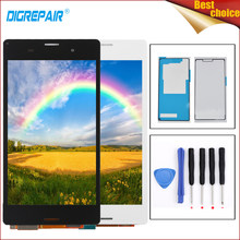 5.0 z3 d6603 screen For Sony Xperia Z3 D6603 D6643 D6653 D6616 L55T LCD Display Digitizer Touch Screen For xperia z3 d6643 d6603(China)