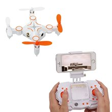 Heliway 901S RC Mini Drone with Camera 0.3MP FPV Real Time Video WiFi Small Quadcopter Nano Quadrotor -Random Color Sent