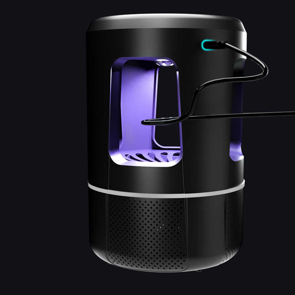 Высококачественная уникальная практичная антимоскитная лампа 5 Вт USB умная оптически управляемая лампа для уничтожения насекомых Прямая доставка