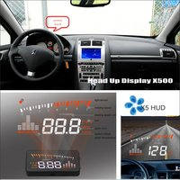 Car Information Projector Screen FOR Peugeot 406 407 2D coupe / 4D Sedan Safe Driving Refkecting Windshield HUD Head Up Display