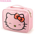 2017 Fashion Brand Women Cartoon Cosmetic Storage Cosmetic Bag Travel Necessarie Functional Organizer for Cosmetics Makeup Bag