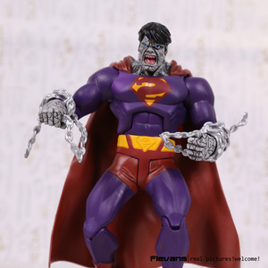 "Image 5 - Dcスーパーヒーロー悪悪いスーパーマンpvcアクションフィギュアコレクタブルモデル玩具7 ""18センチ"