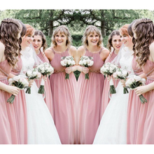 af31e5890102e 2019 Bridesmaid Dress Chiffon Summer Country Garden Formal Wedding Party  Guest Maid of Honor Gown Plus