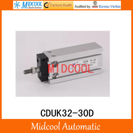Multi-position free installation of the cylinder CDUK32-30D bore 32mm stroke 30mm hack