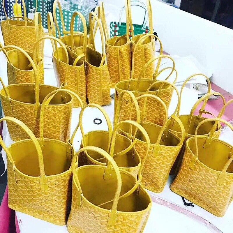 Sac à provisions réutilisable en cuir véritable sac fourre-tout éco shopper pliable épicerie sac net sac à main trolley sac à bandoulière à carreaux