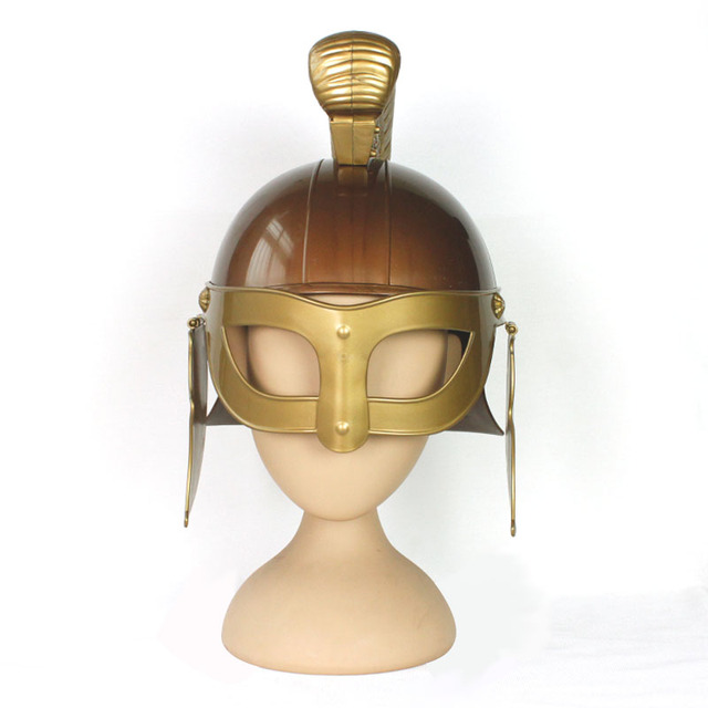 Halloween Stage Show Ancient Rome Warriors Cosplay Adult Horn Fighter Role Plastic Toy