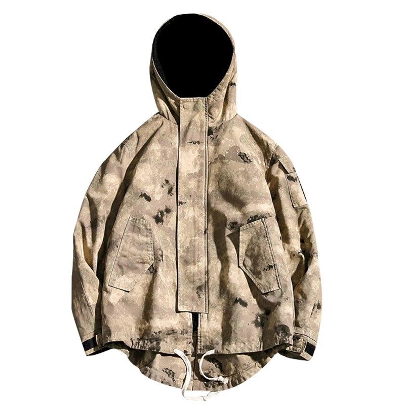 drop shipping Men Camouflage Winter Fleece Military Jackets Men Windproof Outwear   Parkas   Mens Windbreaker Army Overcoat ABZ54