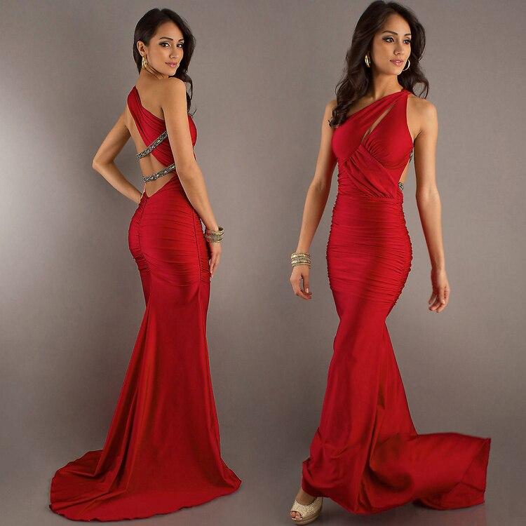 2015 New Style2015 Elegant gorgeous slim long formal dress ...