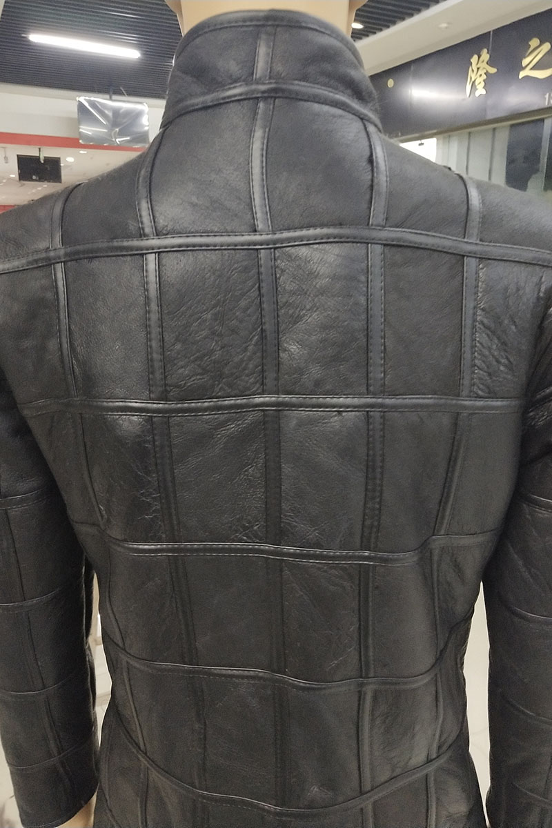 HTB1ttj.X8GE3KVjSZFhq6AkaFXa1 Winter warm men's fur one sheep shearing leather plaid outdoor cotton coat leather jacket thick warm skin