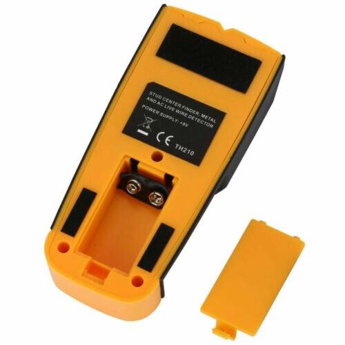 Купить с кэшбэком FLOUREON 3 in 1 Detektor Stud Center Finder Metal/AC live wire Detector Gelb